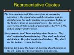 representative quotes31