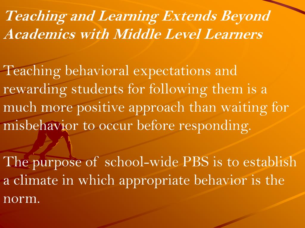 Teaching and Learning Extends Beyond Academics with Middle Level Learners
