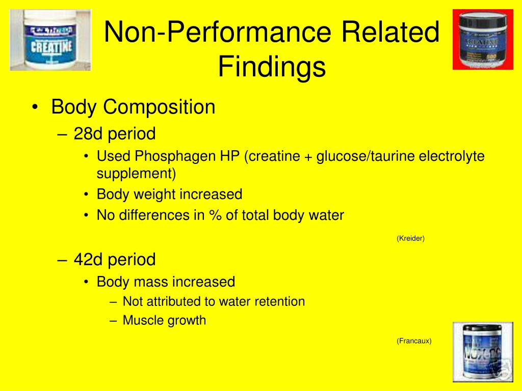 Non-Performance Related Findings