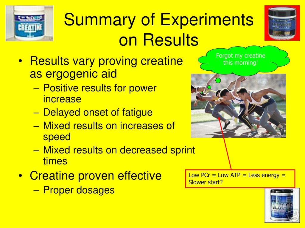 Summary of Experiments on Results