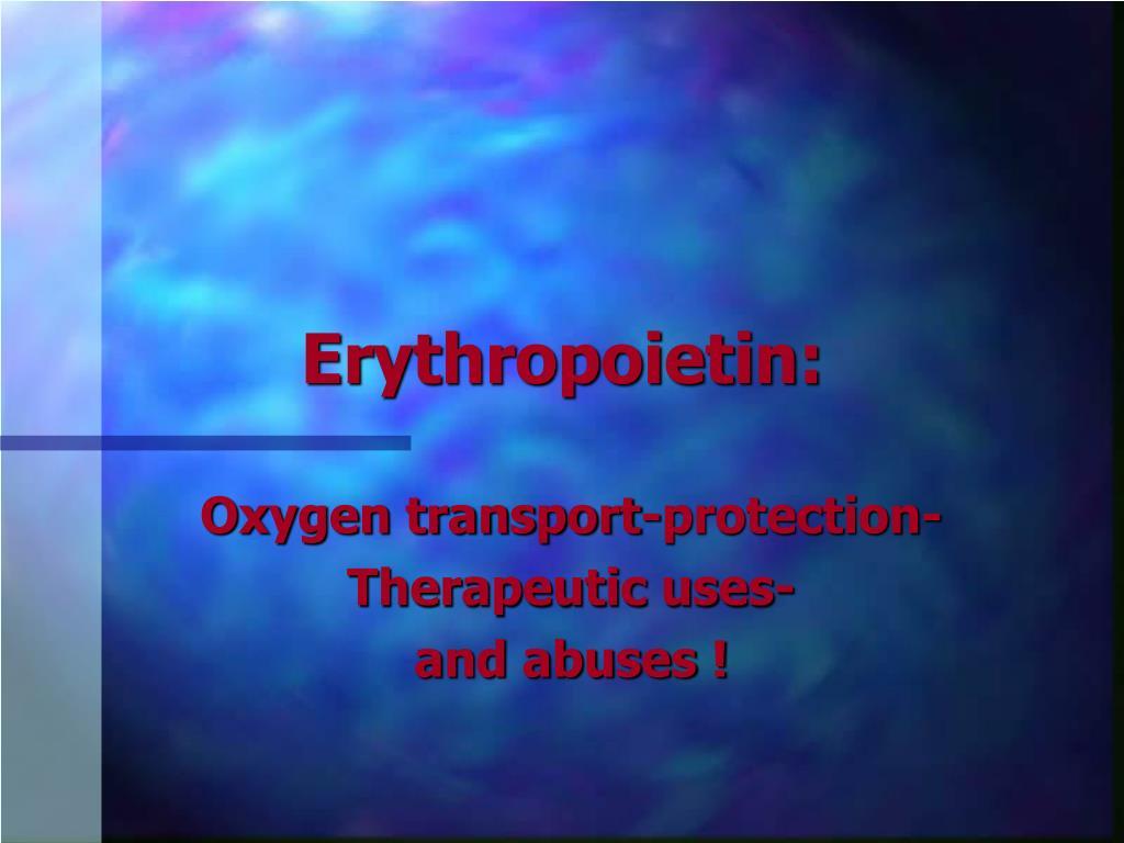 Erythropoietin: