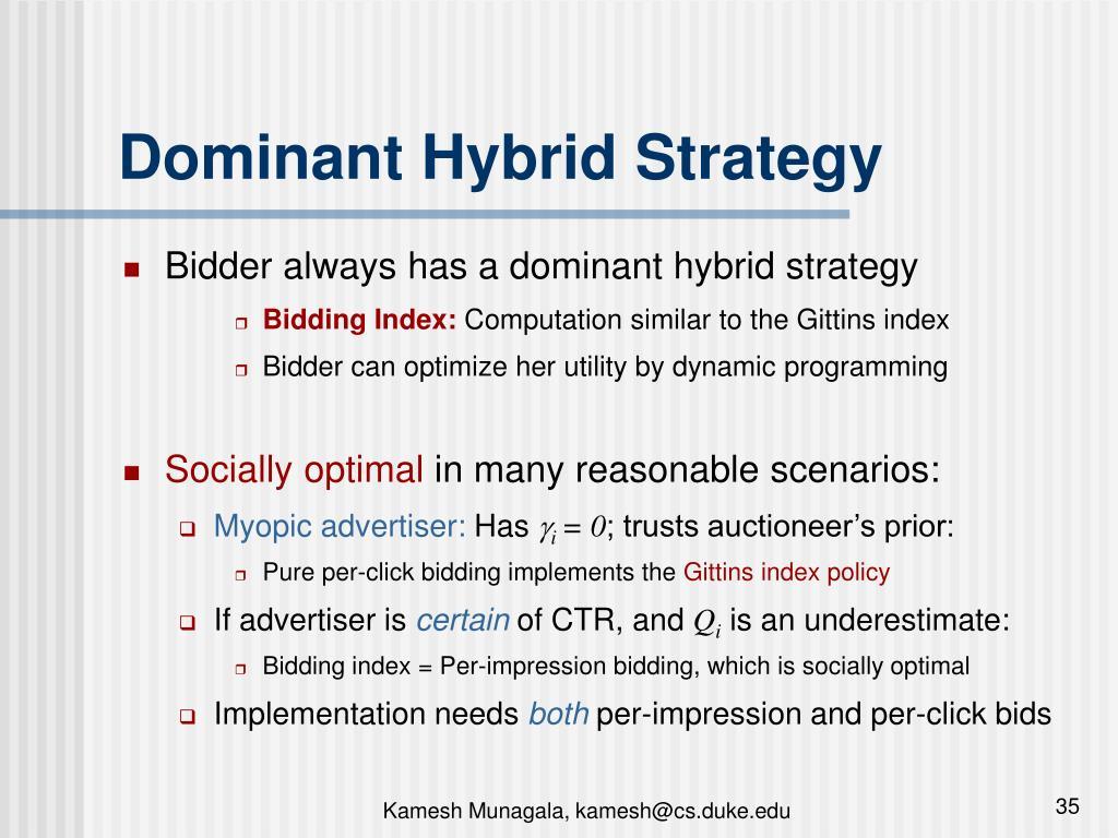 Dominant Hybrid Strategy
