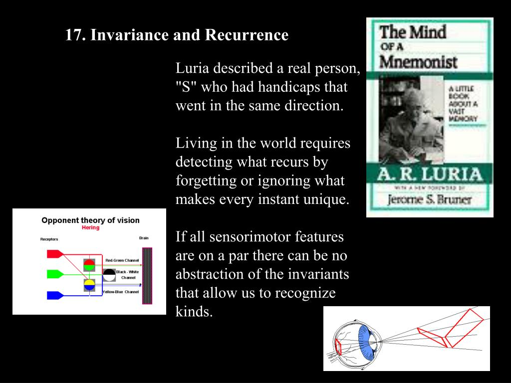 17. Invariance and Recurrence