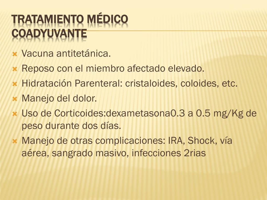 Vacuna antitetánica.