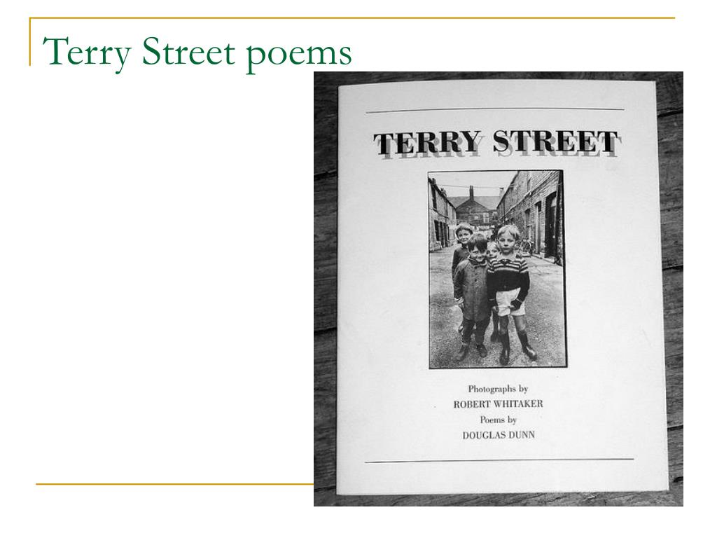 Terry Street poems