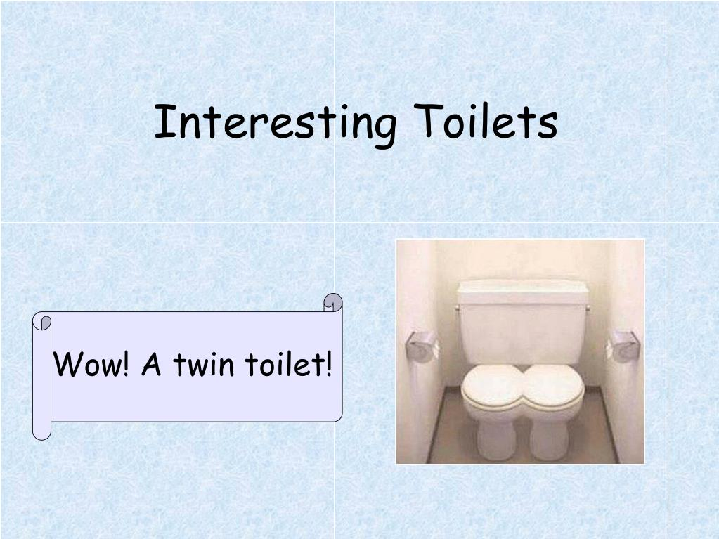Interesting Toilets
