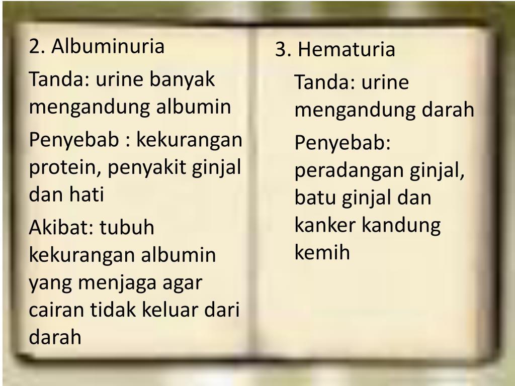 3. Hematuria