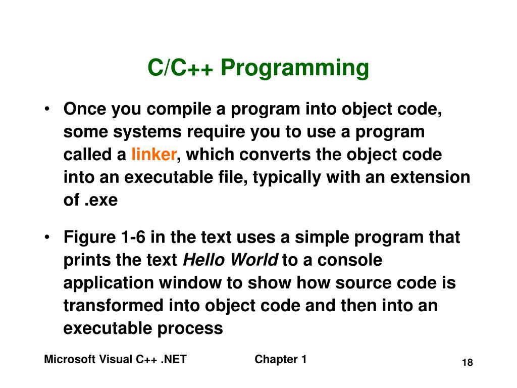 C/C++ Programming
