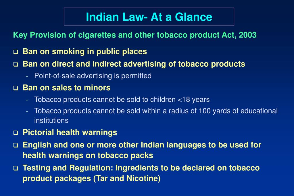 Indian Law- At a Glance