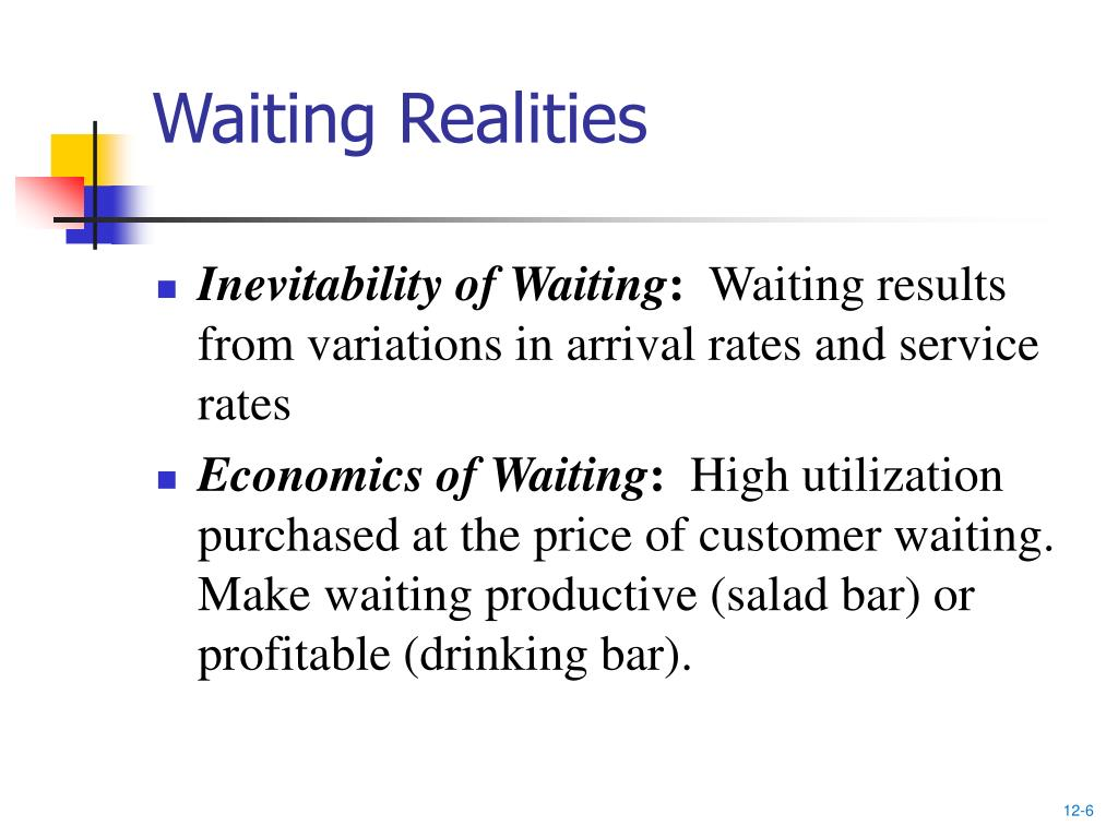 Waiting Realities