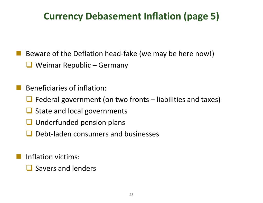 Currency Debasement Inflation (page 5)