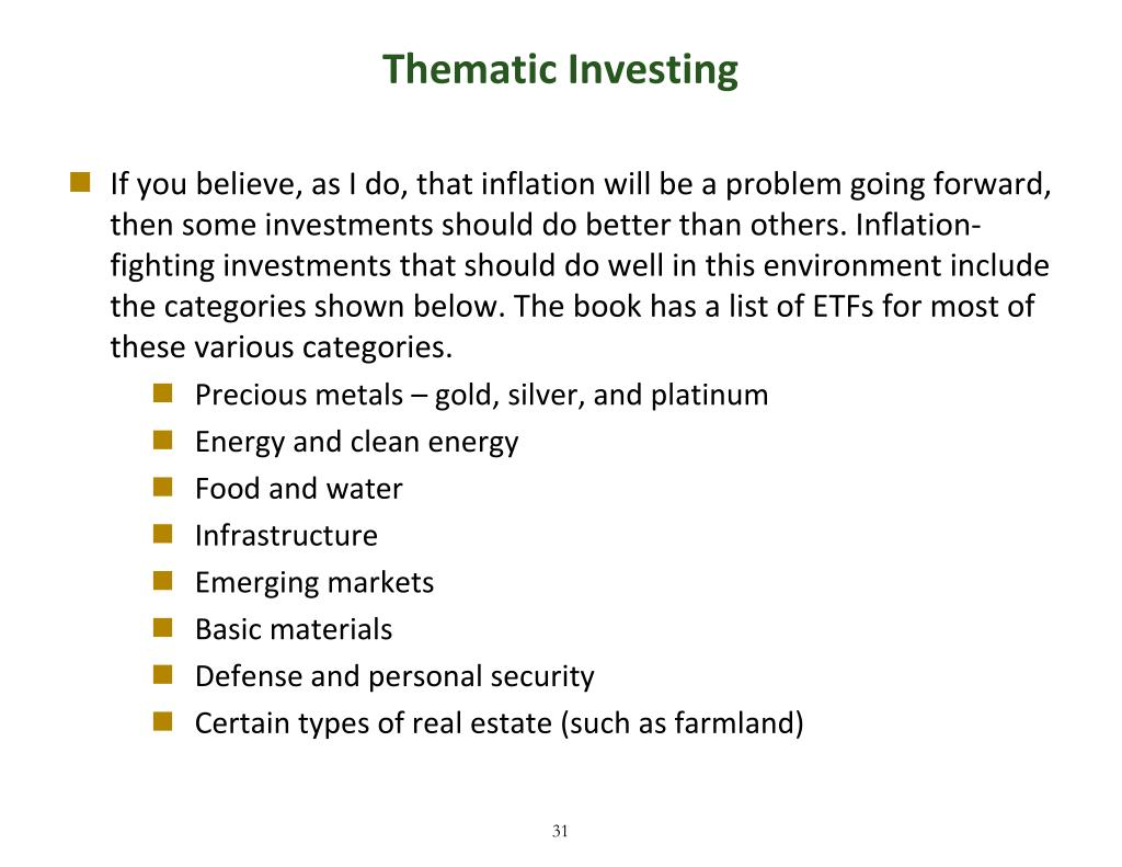 Thematic Investing