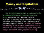 money and capitalism