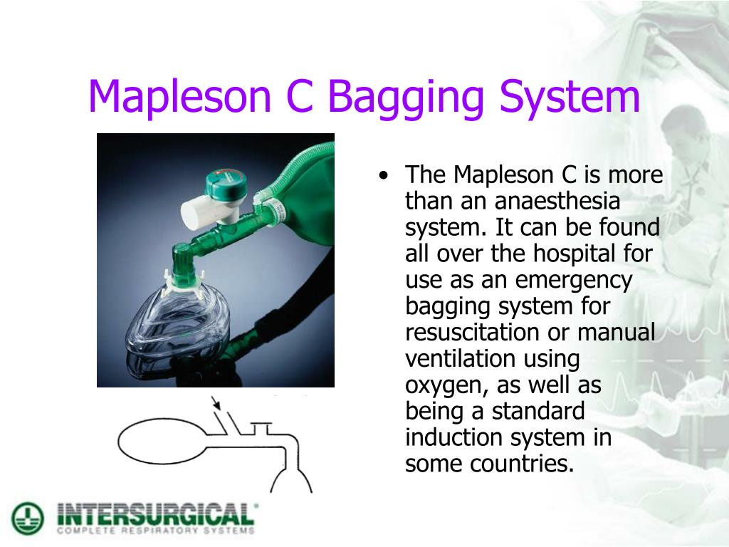 Mapleson C Bagging System