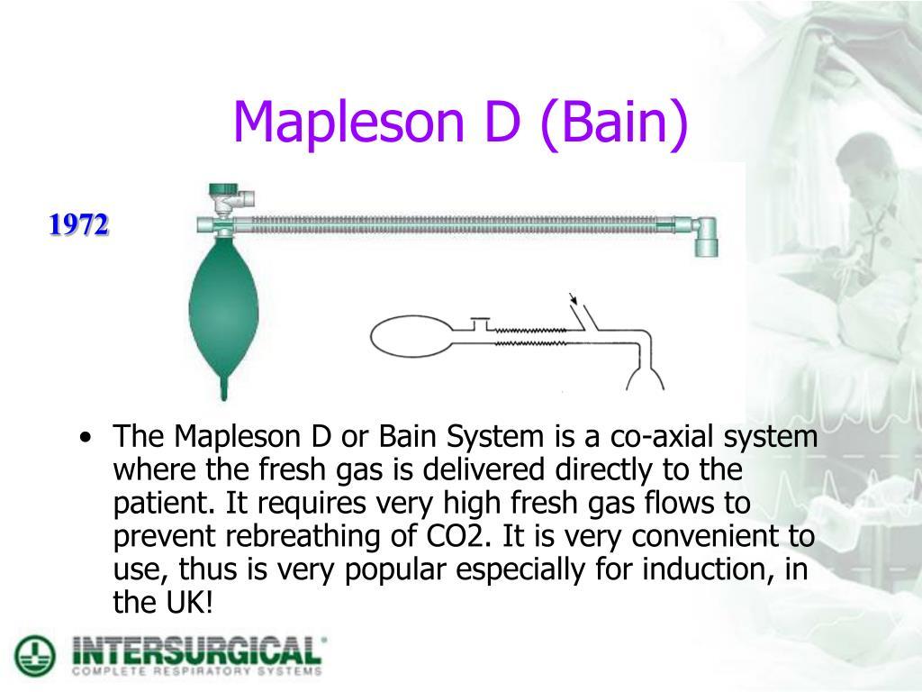 Mapleson D (Bain)