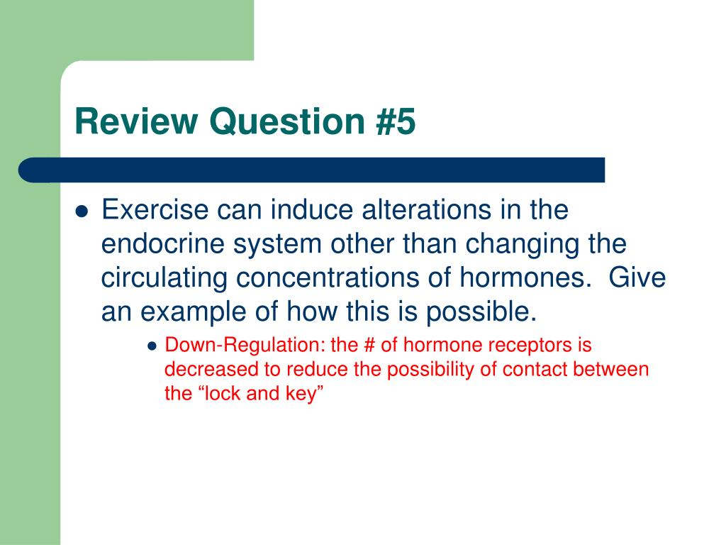 Review Question #5
