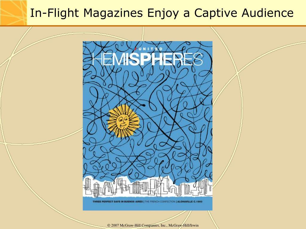 In-Flight Magazines Enjoy a Captive Audience