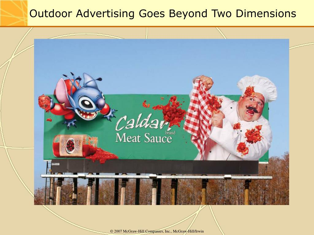 Outdoor Advertising Goes Beyond Two Dimensions