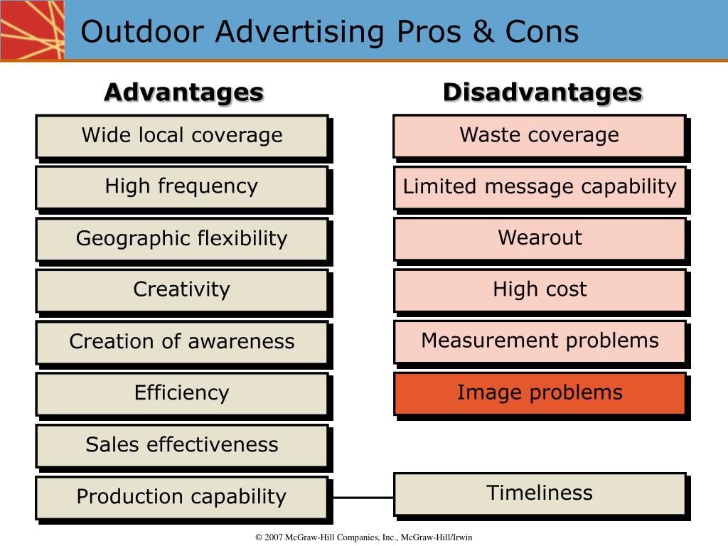 Outdoor Advertising Pros & Cons