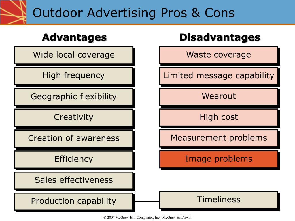 Outdoor Advertising Pros & Cons