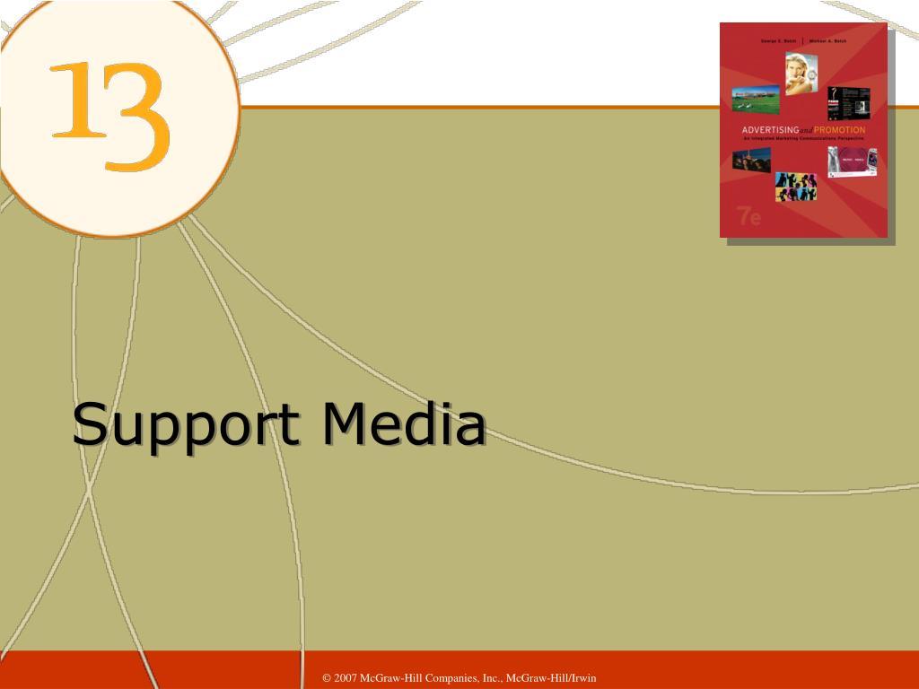 Support Media