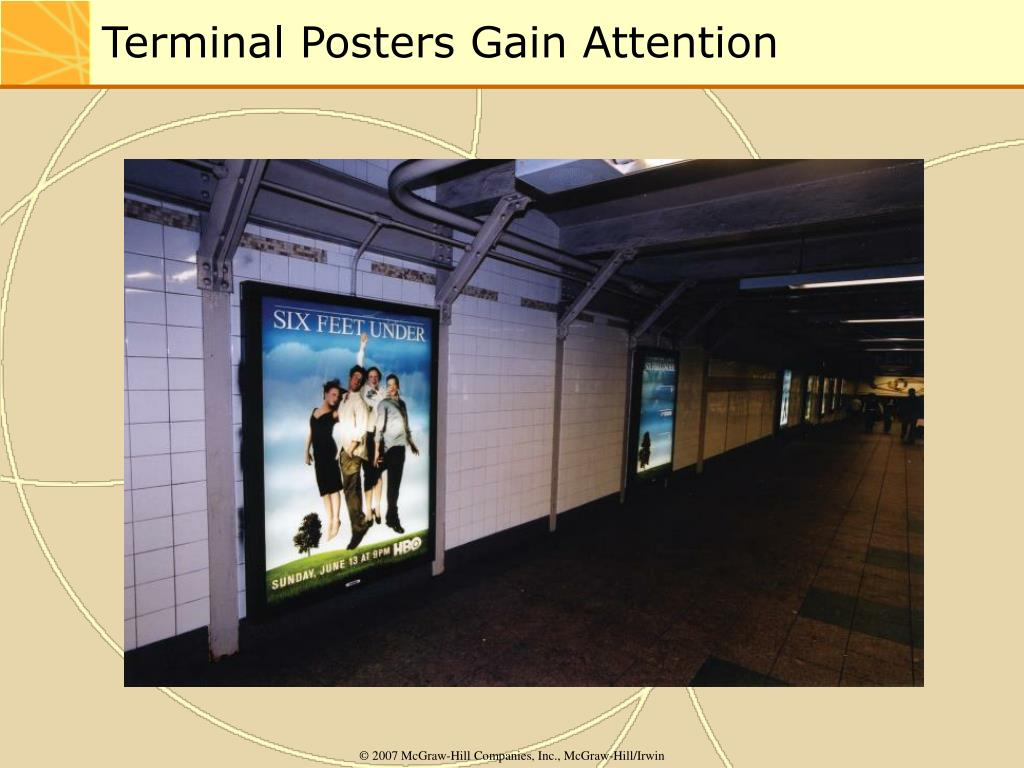 Terminal Posters Gain Attention