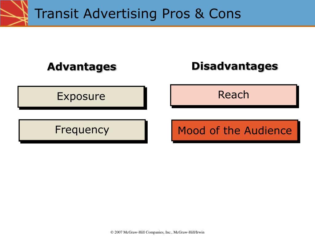 Transit Advertising Pros & Cons