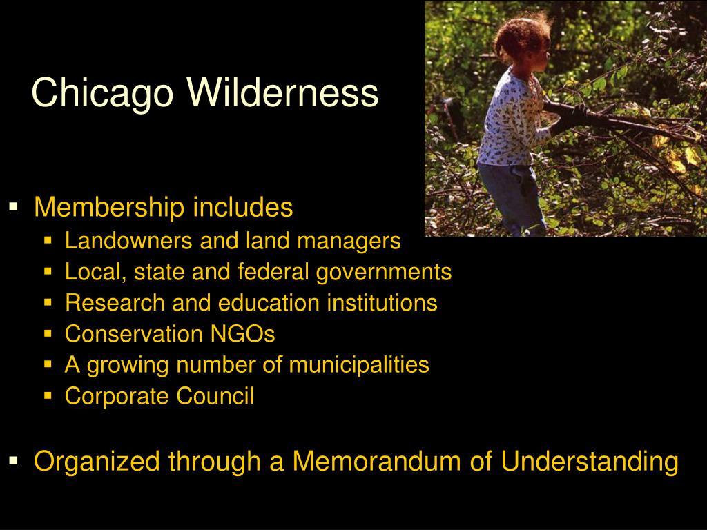 Chicago Wilderness