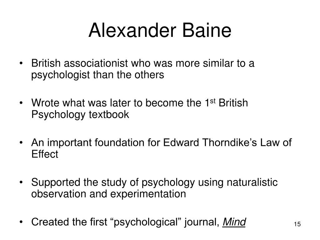 Alexander Baine