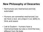 new philosophy of descartes