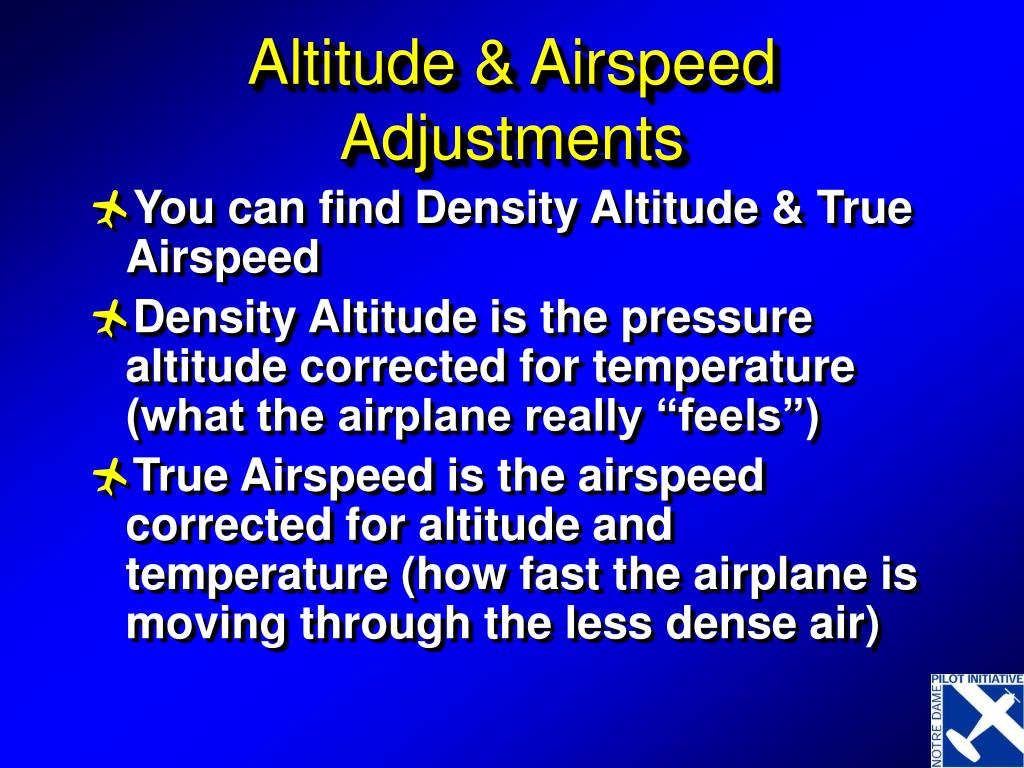 true altitude Calculation of true altitude 05-08-2007, 04:46 q 12819 an aircraft is flying at fl 150, with an outside air temprature of -30, above an.