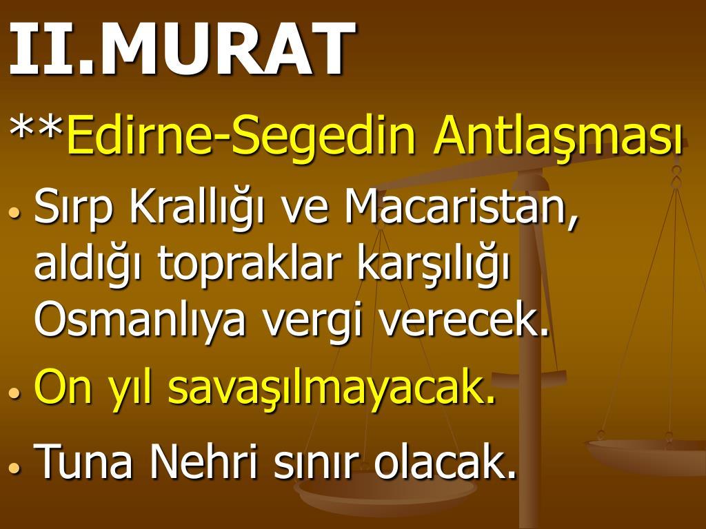 II.MURAT