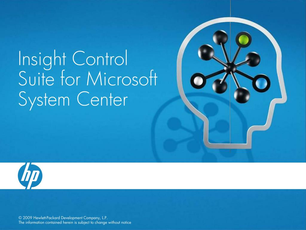 Insight Control Suite for Microsoft System Center