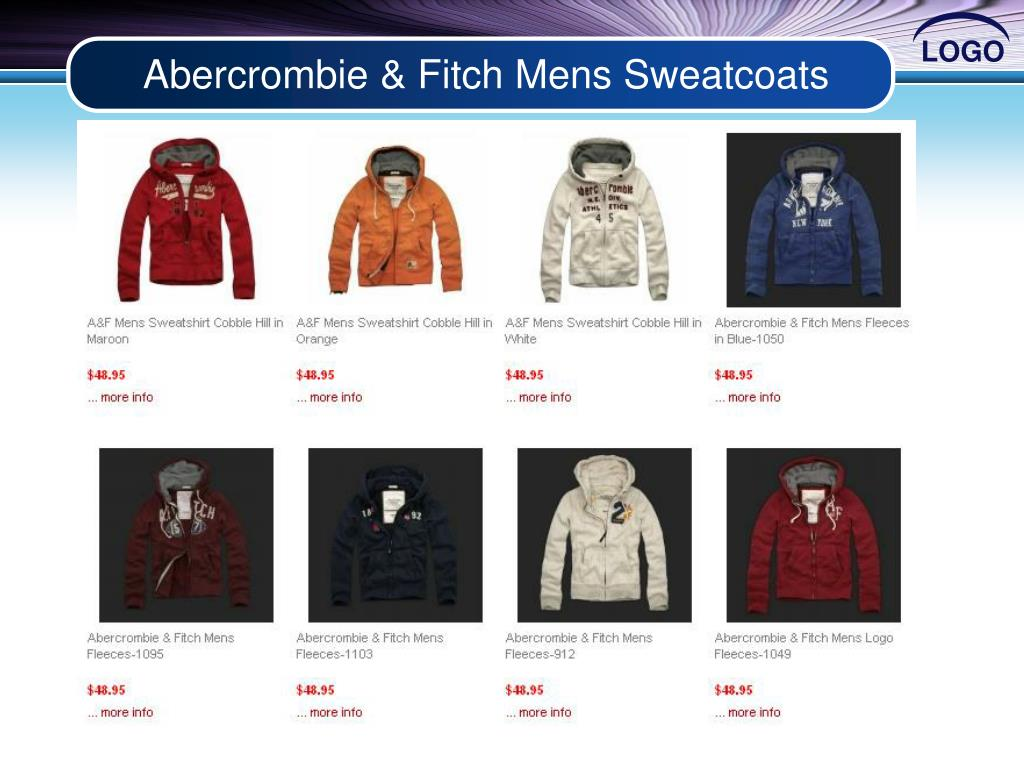 Abercrombie & Fitch Mens Sweatcoats