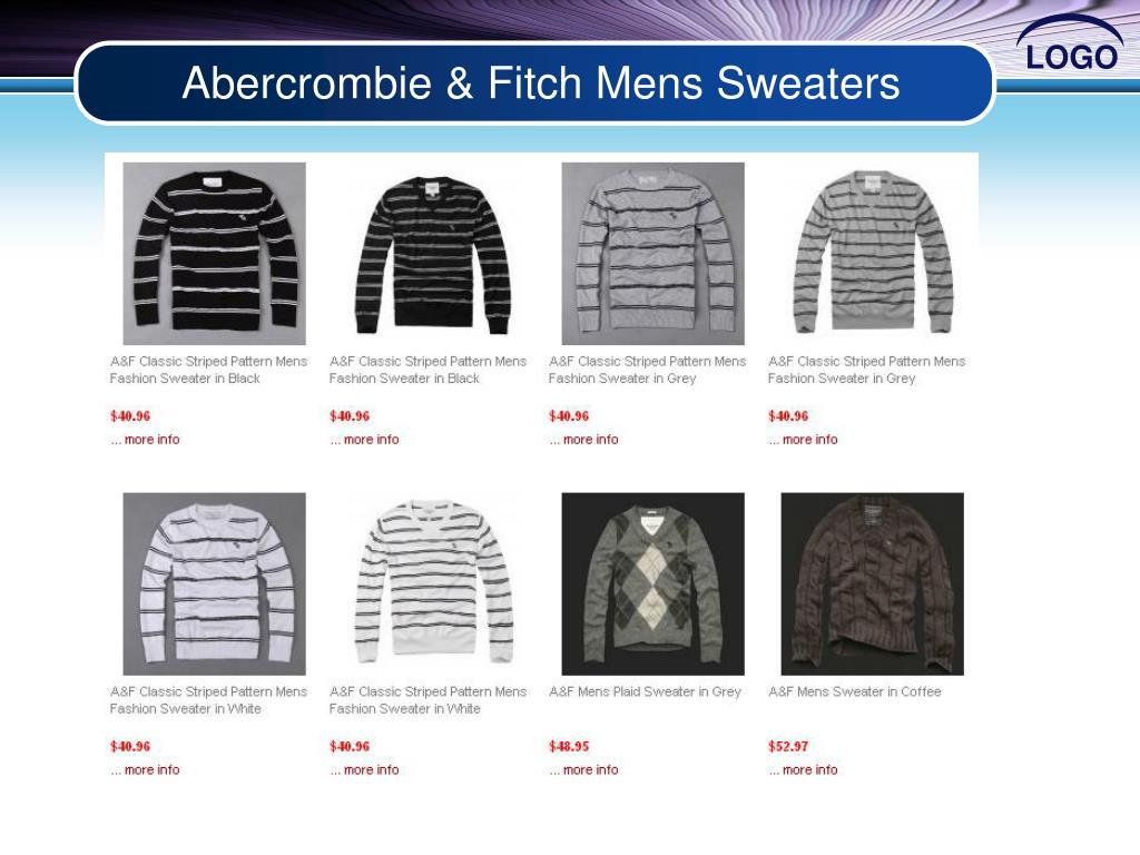 Abercrombie & Fitch Mens Sweaters