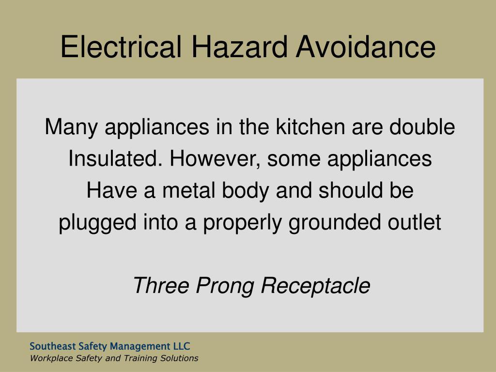 Electrical Hazard Avoidance