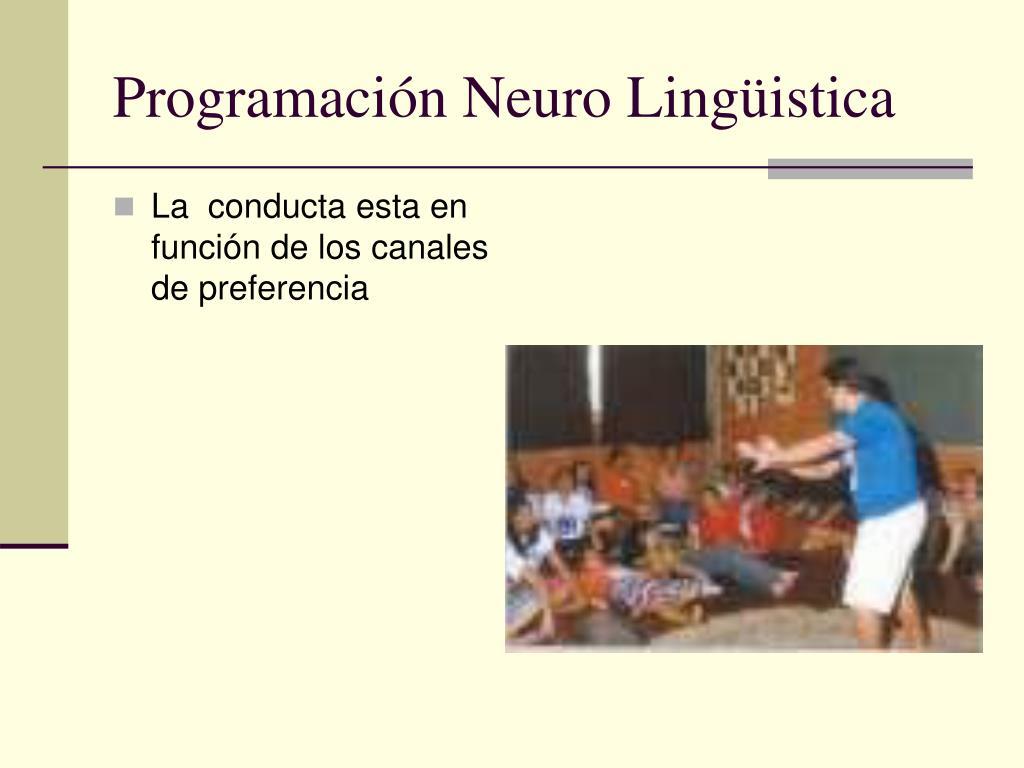 Programación Neuro Lingüistica