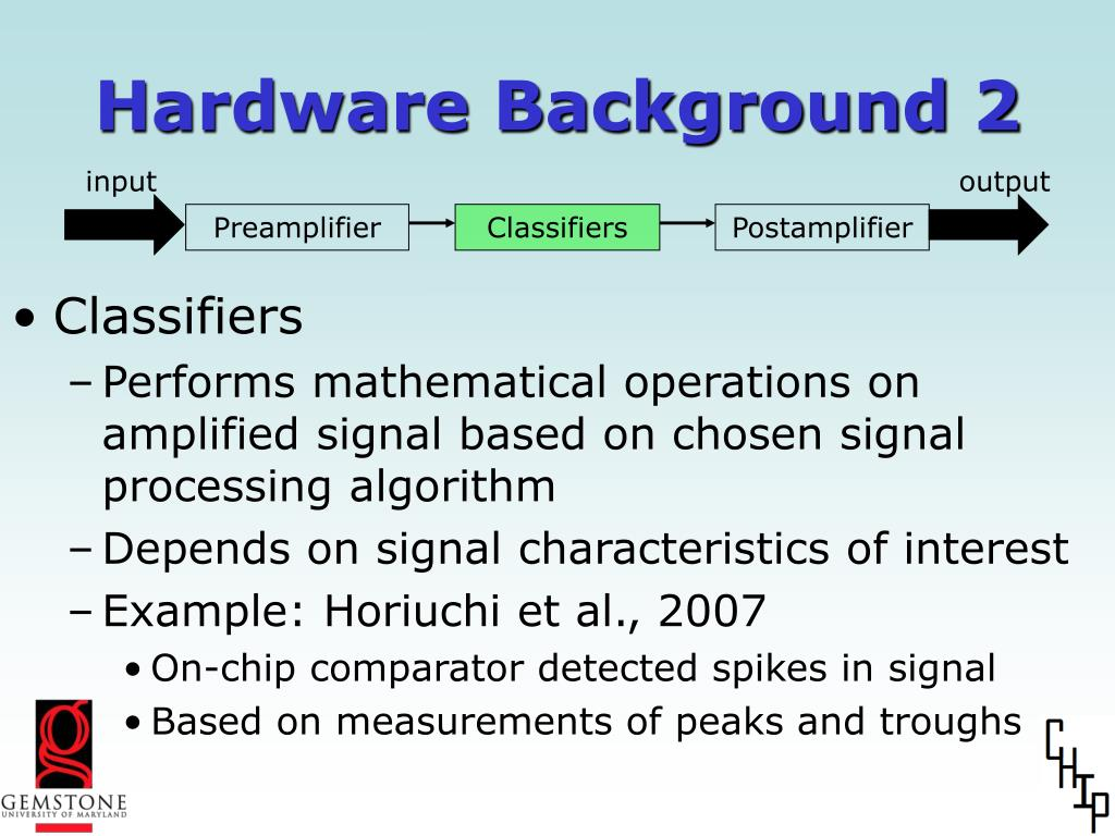 Hardware Background 2
