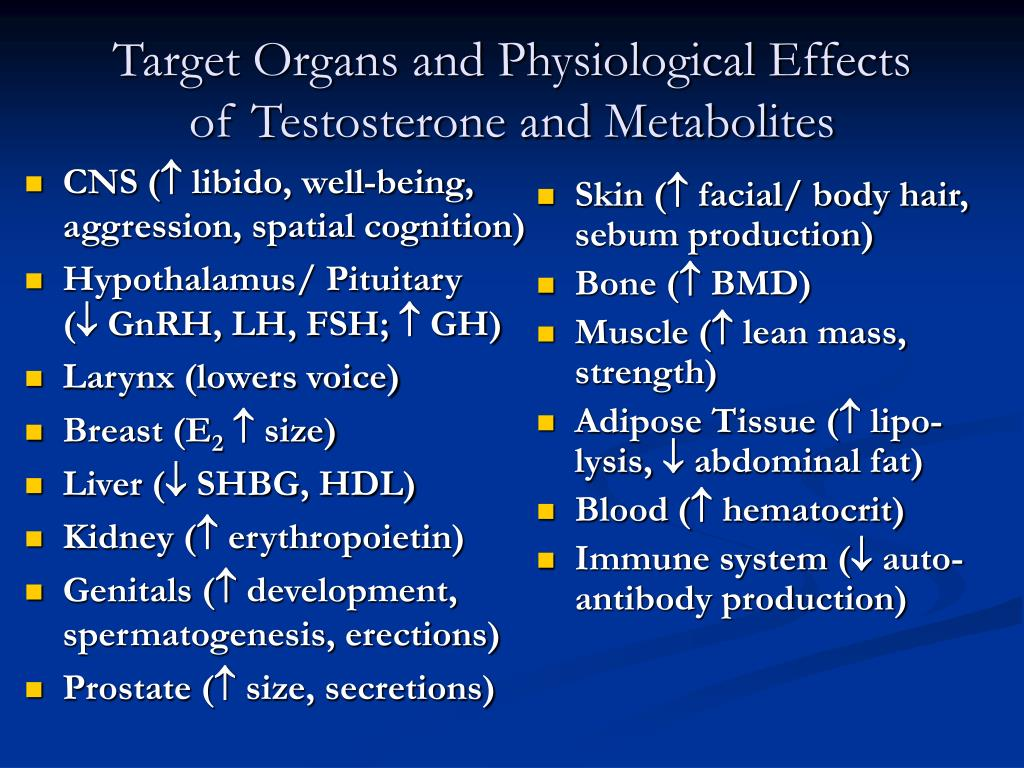 Target Organs and Physiological Effects