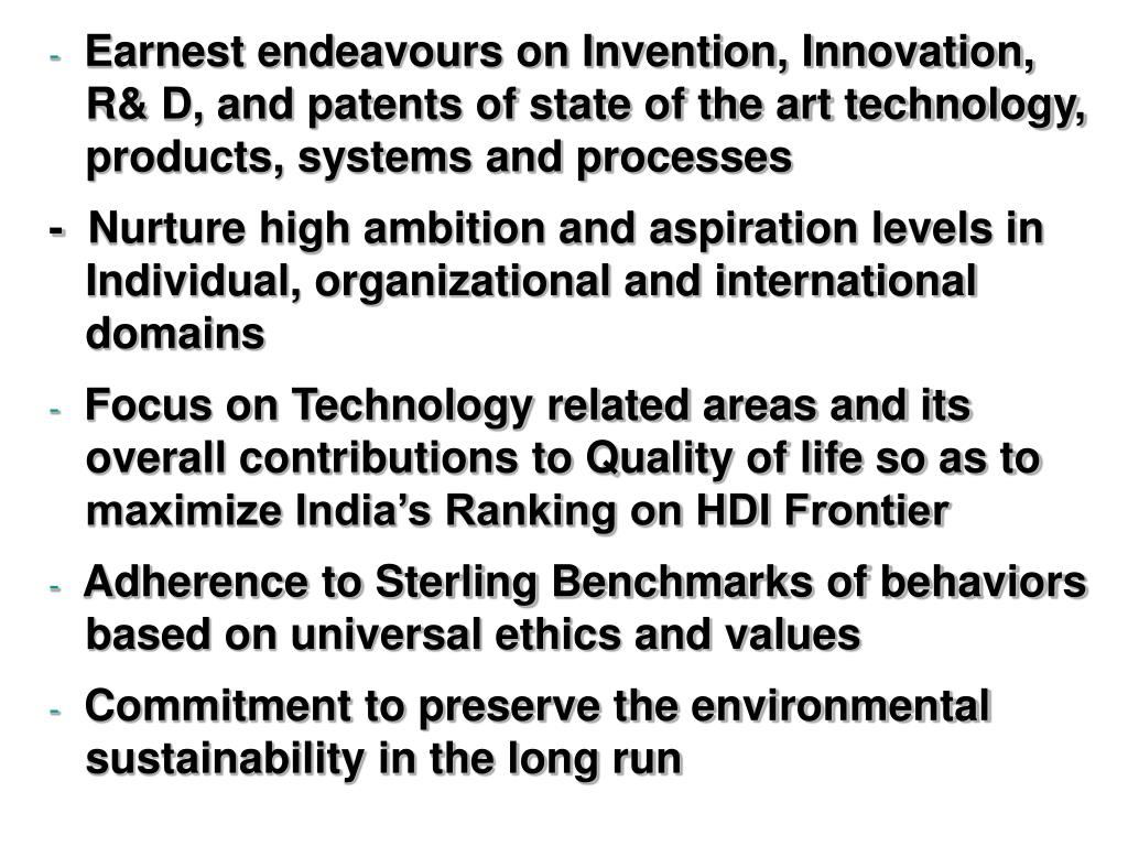 Earnest endeavours on Invention, Innovation,