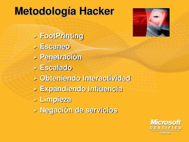 Metodología Hacker