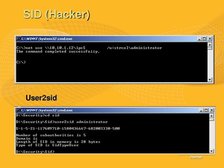 SID (Hacker)