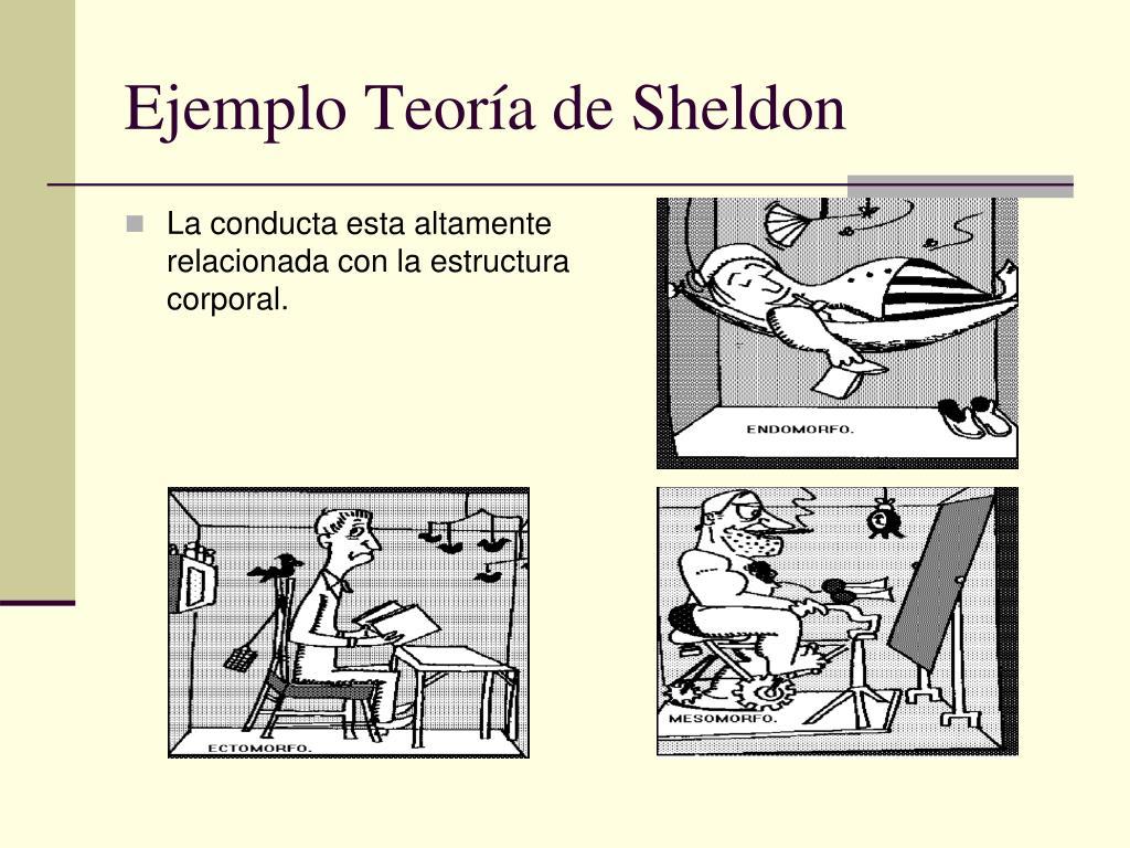 Ejemplo Teoría de Sheldon