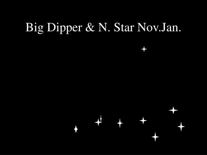 Big Dipper & N. Star Nov.Jan.