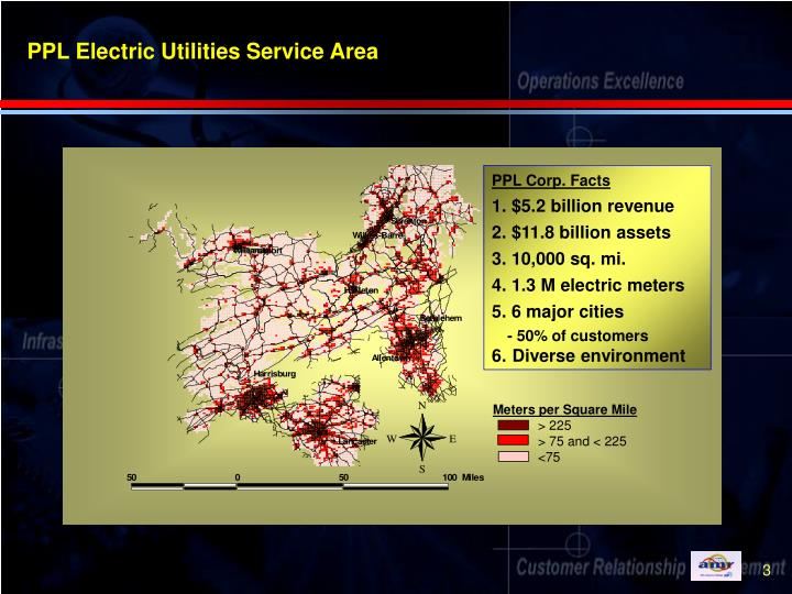 Ppl electric utilities service area