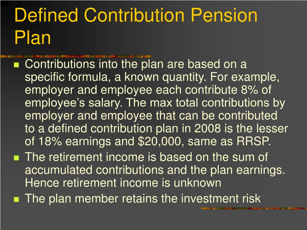 Defined Contribution Pension Plan