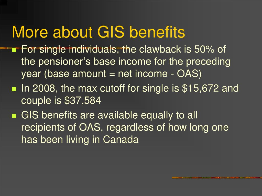 More about GIS benefits
