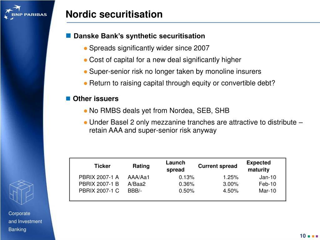 Nordic securitisation