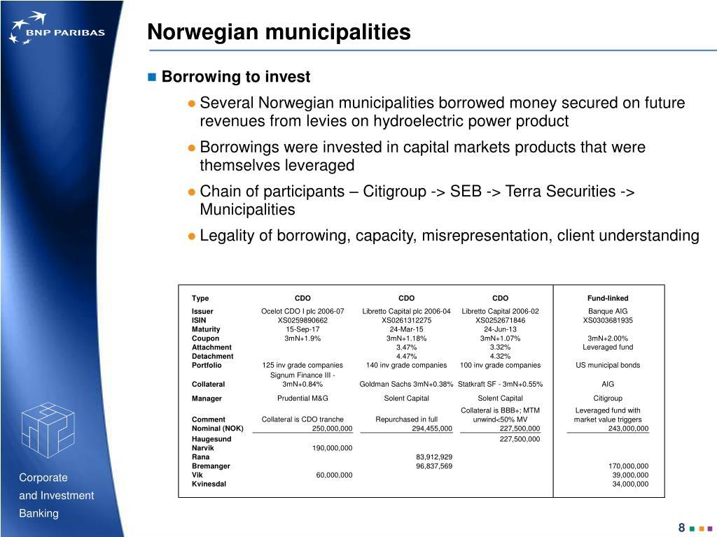 Norwegian municipalities