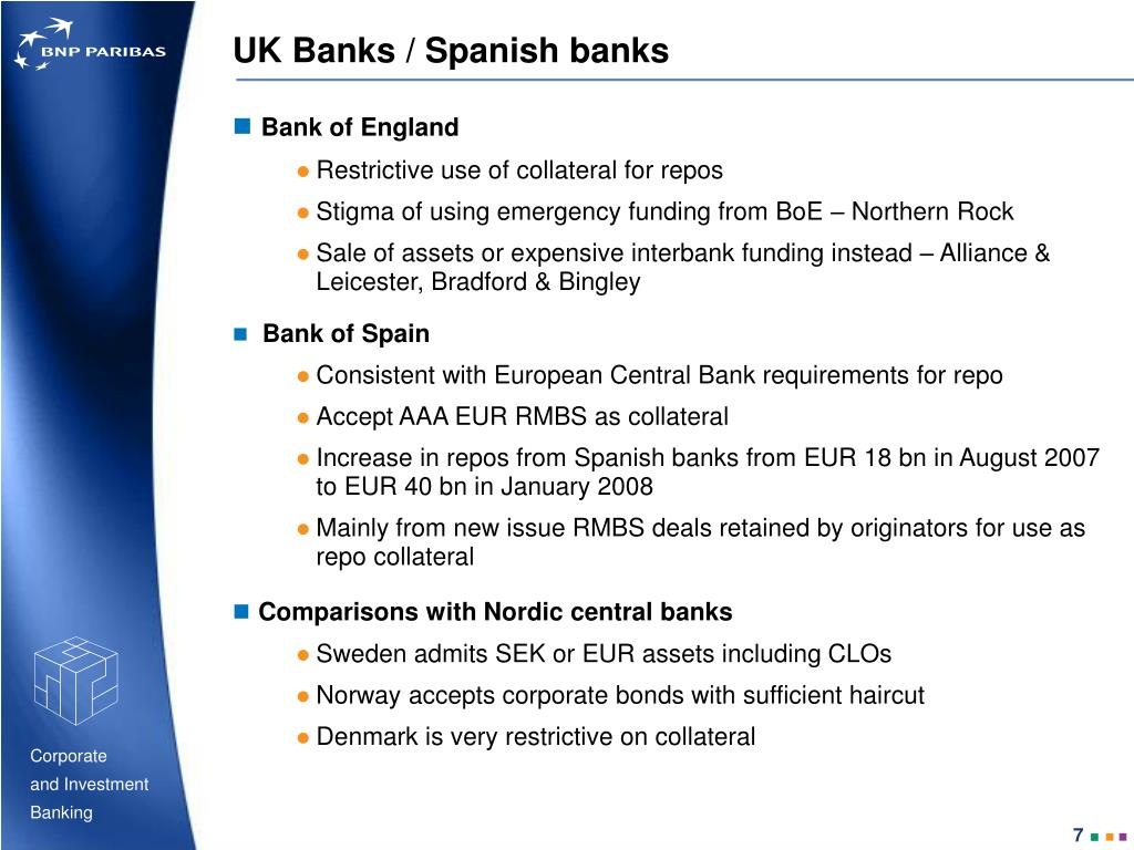 UK Banks / Spanish banks
